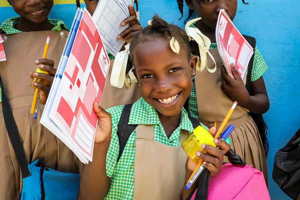 skolmaterial-haiti-marigot