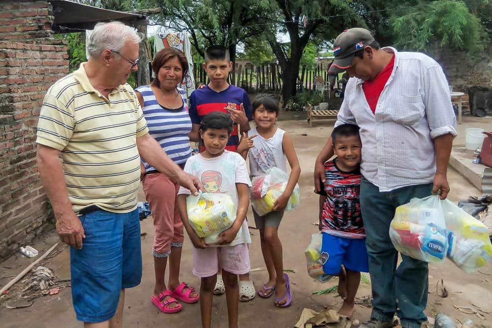 Rapport från vår insats i Argentina