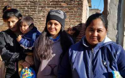 Hjälpinsats till heroiska systrar