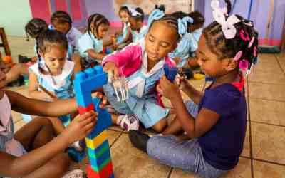 En dag på förskolan i Trinidad