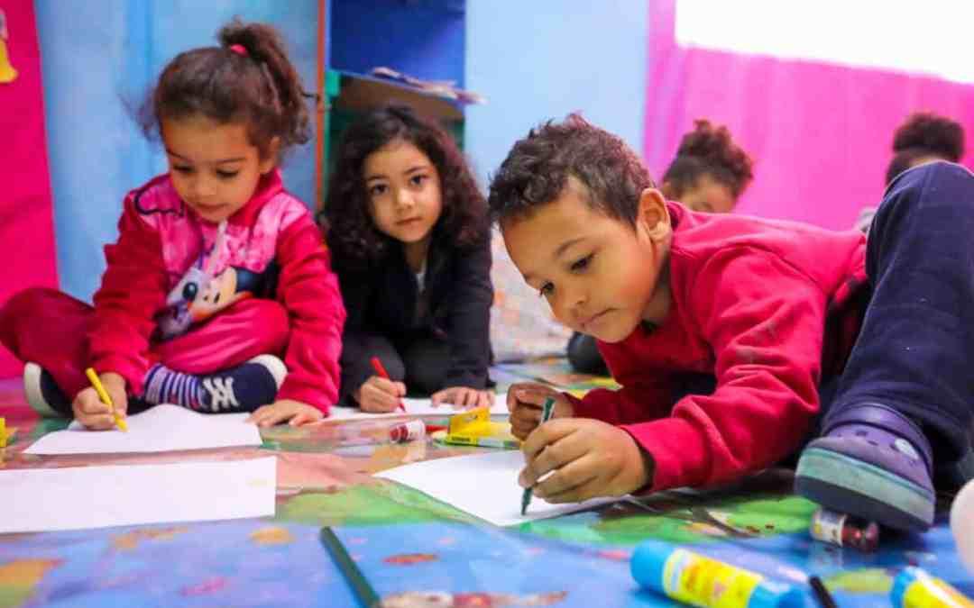 Förskolan i Cantinho Feliz, Brasilien
