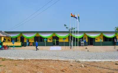 Skola i Ghana uppfräschad!