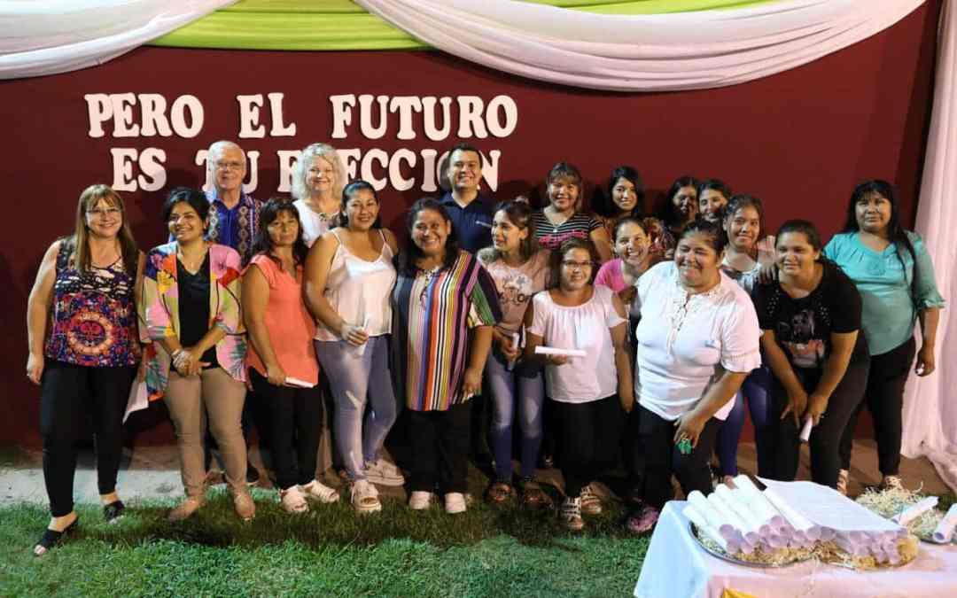 Avslutningsfest på yrkesskolan i Argentina