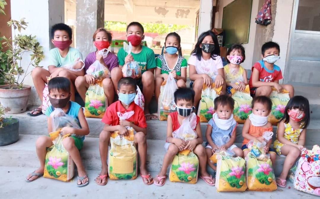 Matutdelning Filippinerna