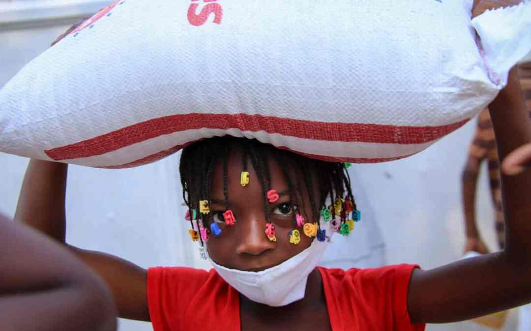 Matutdelning Haiti