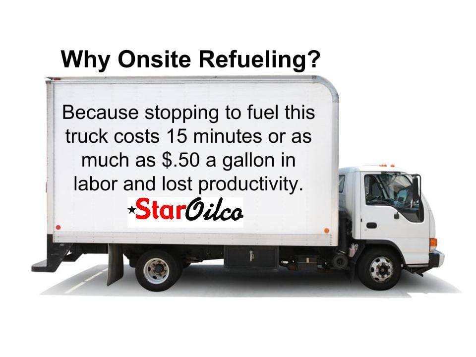 Onsite Refueling Services Save Time & Money