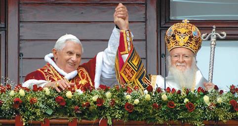 Image result for papa intalnire ecumenica bartholomeu