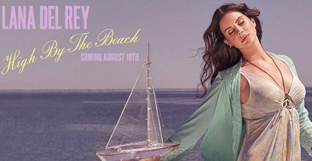 "LANA DEL REY ""HIGH BY THE BEACH"" il primo singolo ufficiale del nuovo album ""HONEYMOON"""