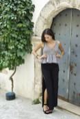 Fabiola Pezziniti so_we fashion blogger Zara pantaloni top milano fashion week milano moda donna2015