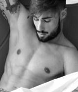 Copertina: il modello Gianluca Tornese
