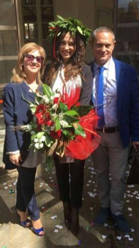GF: Federica Lepanto si è laureata