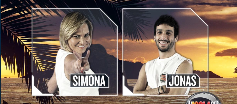 L'isola dei famosi reality show Simona ventura Jonas Alessia marcuzzi naufraghi