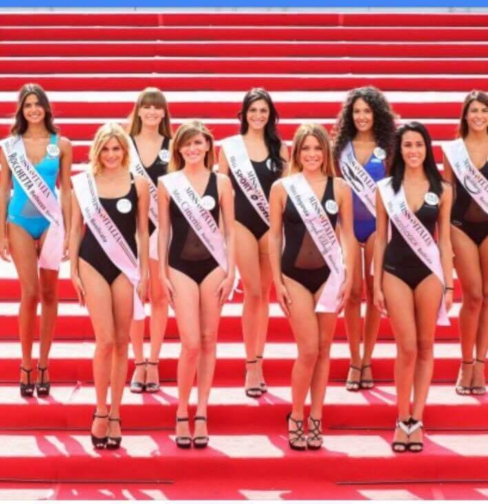 Miss Italia : le prefinaliste della Basilicata