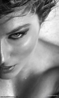 Copertina: La show girl Francesca Brambilla