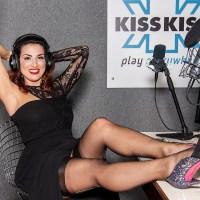 LADY LETIZIA: Claudia Letizia protagonista su Radio Kiss kiss