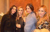 La blogger Elvira Colavita, Francesca Borneo, Alessia Fabiani e Maria Flavia Liotta