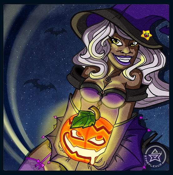 halloween treats closeup