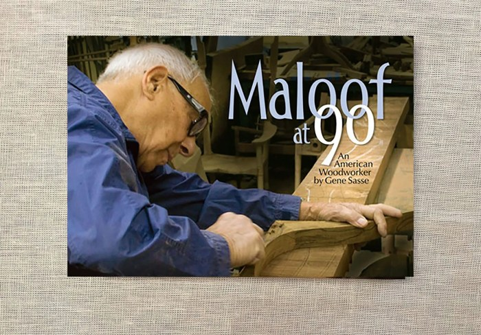 Maloof at 90: An American Woodworker, by Gene Sasse, introduction, President Jimmy Carter.