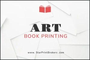 Art Book printing. We print beautiful art books.
