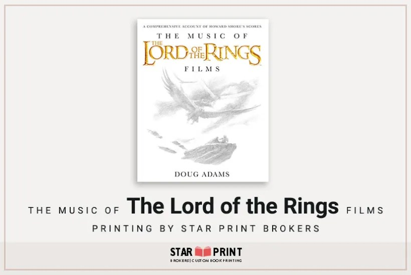The Music of the Lord of the Rings Films is a fine example of our coffee table book printing.