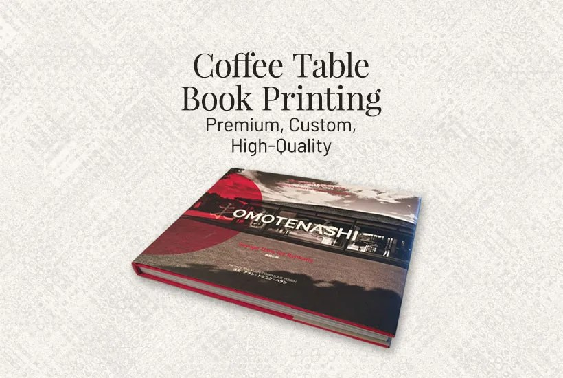 High-quality coffee table book printing in Asia at a reasonable cost.