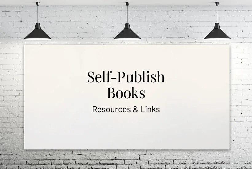Resources for Self-publishing