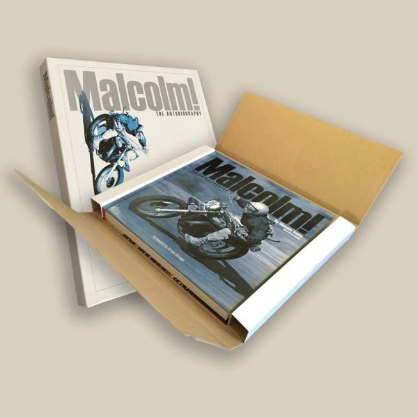 Bumper box for books. Bumper boxes add to your branding.