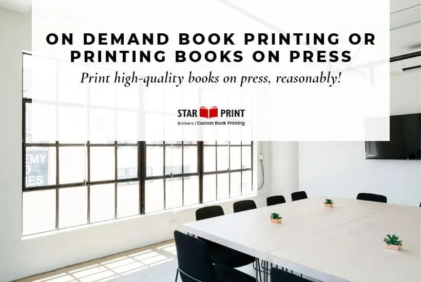 Print on demand publishers & on demand book printing