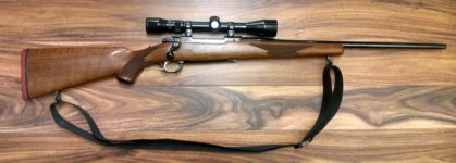 RUGER MODEL 77 .30-06 RIFLE WITH WEAVER SCOPE