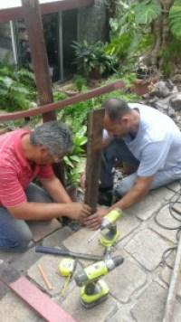 Railing repair_Estevan and Carlos_1