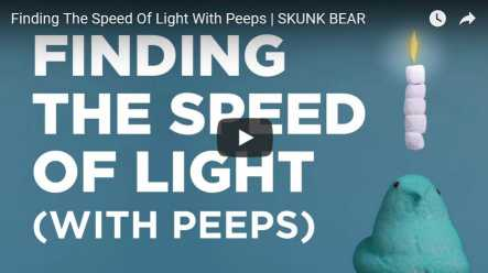 Finding the Speed of Light with Peeps!