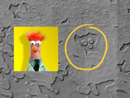 Muppets Land on Mars!