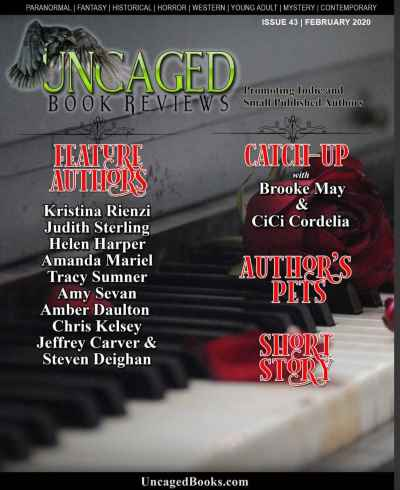 Uncaged Magazine cover