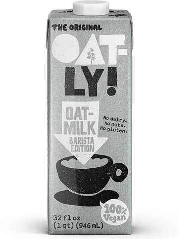 Oatly Barista Edition Oatmilk