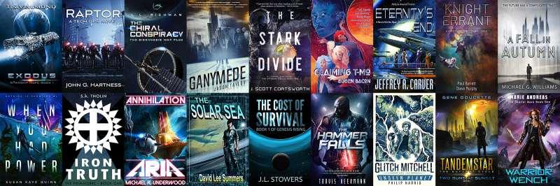 SFWA Story Bundle - book covers