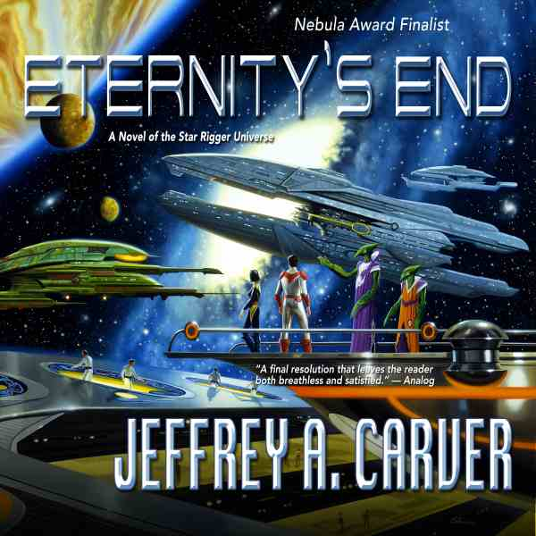 Carver-Eternity's End Audiobook cover