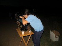 learning how to use a telescope