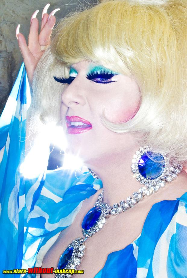 Lady Bunny Without Makeup