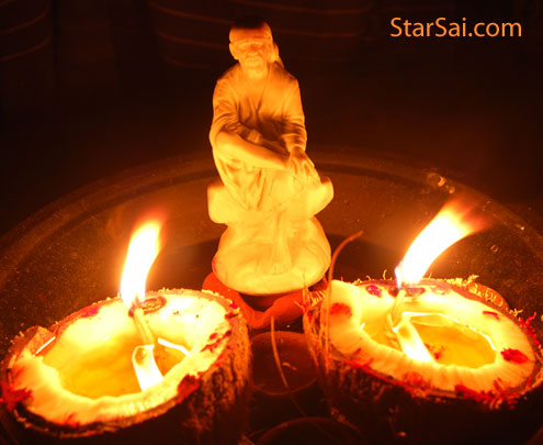 Saibaba Answers your prayers by his love and care on you