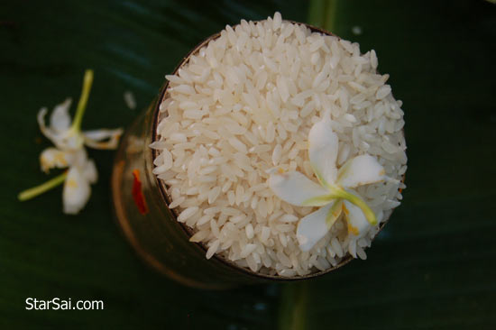 aucpicious rice
