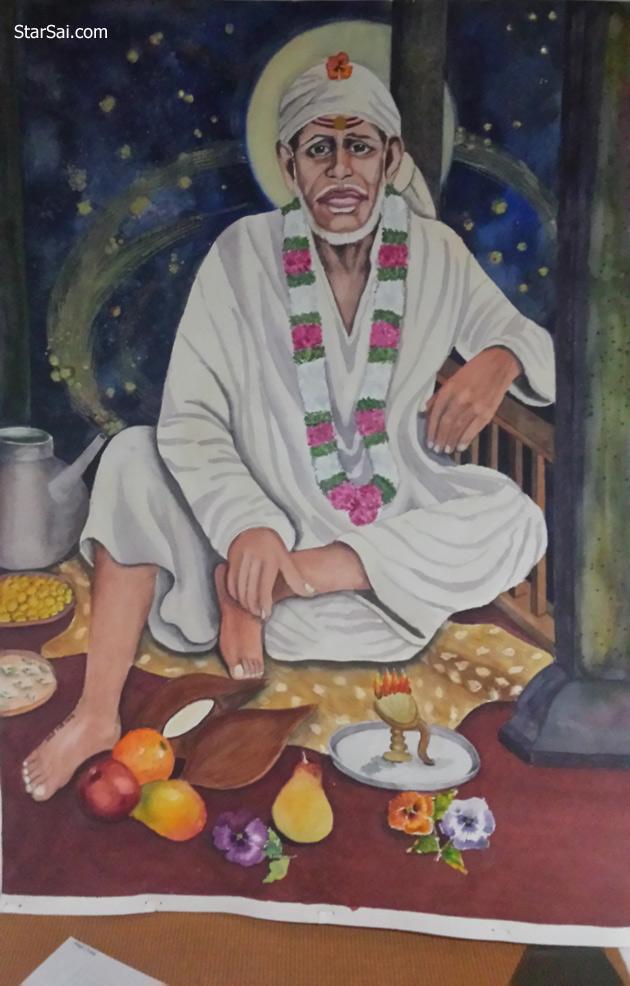 Shirdi Saibaba painting