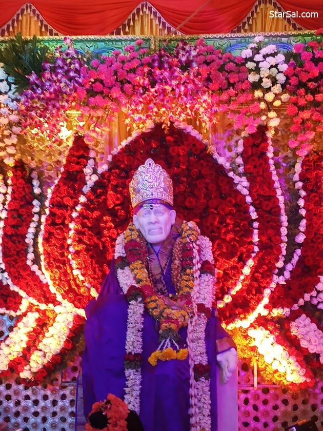 Shirdi Saibaba temple in Malleshwaram