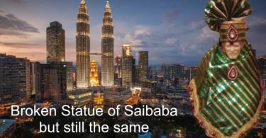 Saibaba Statue in Malaysia