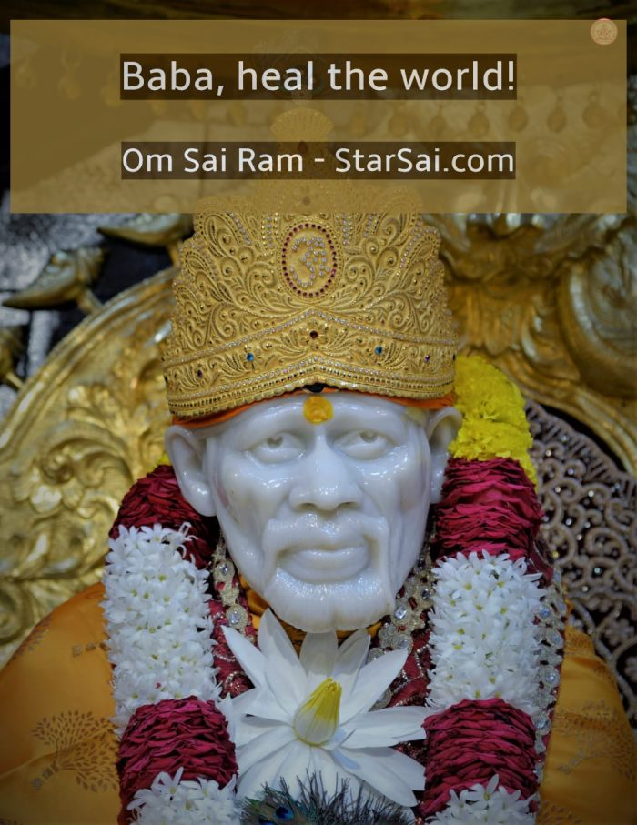 Shirdi Saibaba heal the world