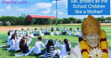 Shirdi Saibaba Protects School Children