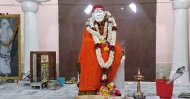 Shirdi Sai baba temple in Malleswaram