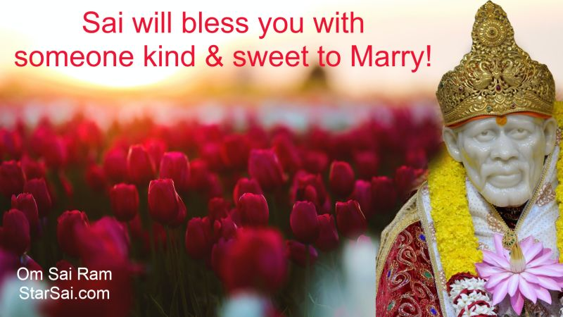 Saibaba blessings for good husband