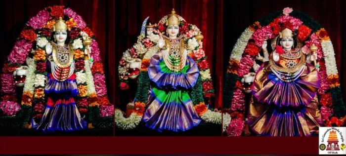 Goddess Durga, United States Temples