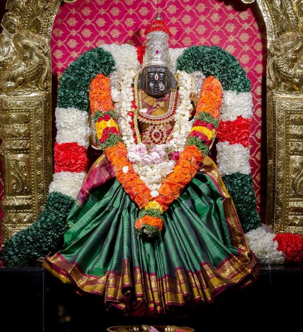 Goddess Lakshmi in USA Temples