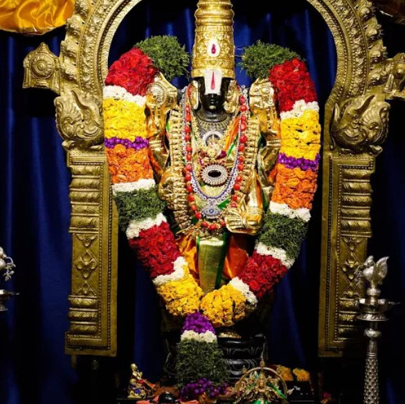 Lord Venkateshwara in Utah Ganesha temple, USA